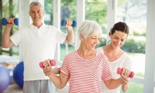 curso fitness para personas mayores